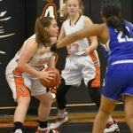 Girls Varsity Basketball falls to Whitmore Lake 51 – 46