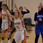 Girls Varsity Basketball beats Central Academy – Ann Arbor 50 – 24