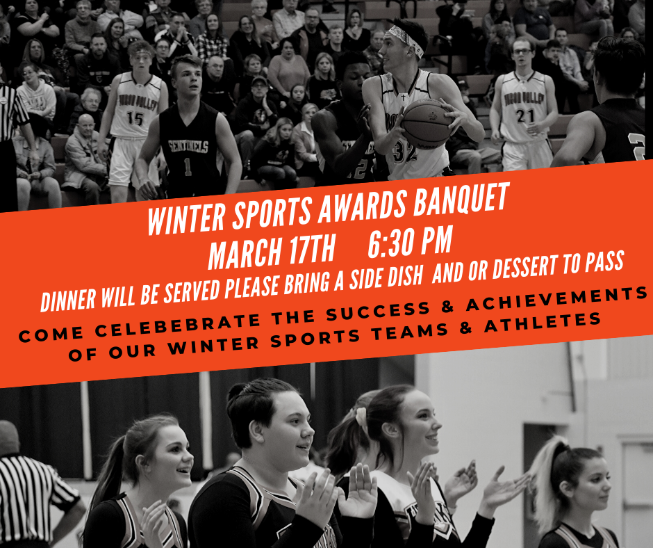 Winter Sports Awards Banquet – March 17th, 2020