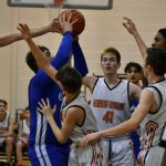 Boys Junior Varsity Basketball beats Cabrini 40 – 38