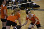 Girls Junior Varsity Volleyball beats Canton Prep Academy 2 – 1 in Season Opener