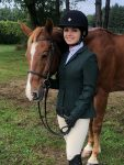 Equestrian Marina Froehlich Scores 1st in Four Classes at Meet
