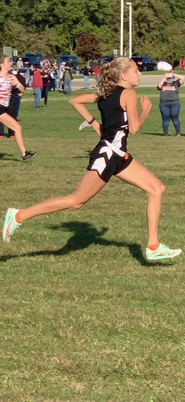 Erika VanLoton wins 2nd MIAC Jamboree and is named MIAC September Athlete of the Month