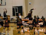 HVL Volleyall teams finish strong in Volleyball Quad and Tri to finish regular season