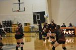 HVL Varsity Volleyball fall in District Semi-Final