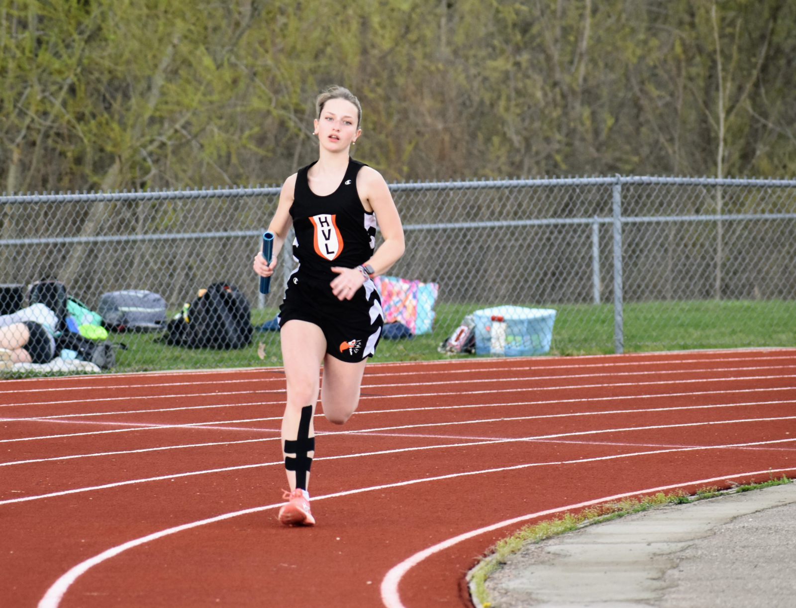 HVL Track Team Has Great Day at Whitmore Lake Invitational