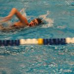 Girls Swimming & Diving Beat Mentor 93-90