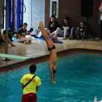 Lyle Yost posts record-setting night at Sectional Diving; Kaups advances to District