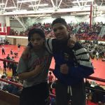 Long, Muhammed advance to Day 2 at State Wrestling Tourney