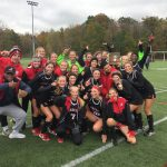 Shaker Heights High School Girls Varsity Field Hockey beat Hudson 3-0