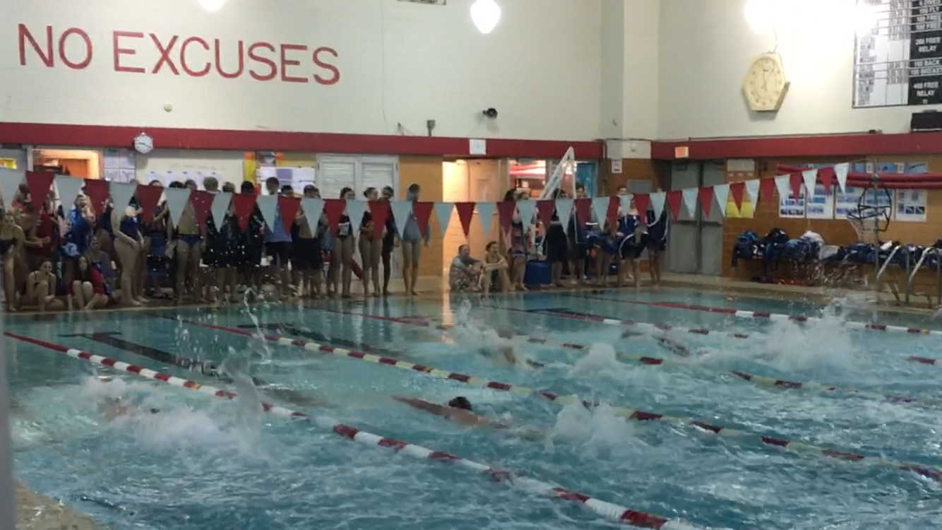 Raider Swimming & Diving Start Season Strong with Conference Wins