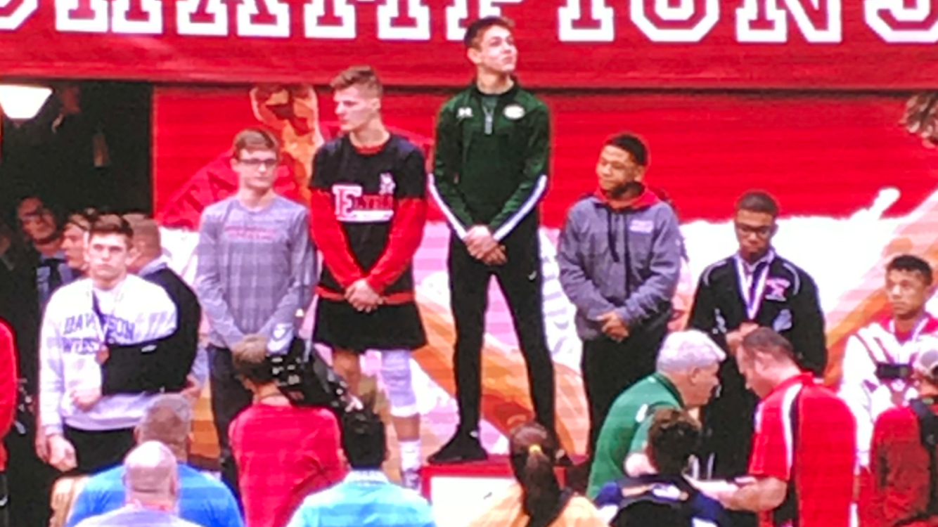 Jaivon Jones places 5th at OHSAA State Wrestling Championships