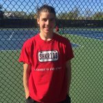 Wilder Geier advances to Day 2 at District Tennis; Will Play for Trip to States on Saturday