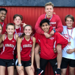 Shaker Track: Boys' 4×800 Headed to States; 2 Relays, 5 Individuals to Run in Regional Finals