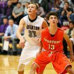 Riverton High School Boys Varsity Basketball beat Murray High School 54-52