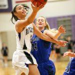 Riverton High School Girls Varsity Basketball falls to Bingham High School 48-52