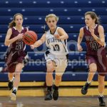 Riverton High School Girls Varsity Basketball beat Jordan High School 67-41