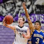 Riverton High School Boys Varsity Basketball beat Taylorsville High School 53-40