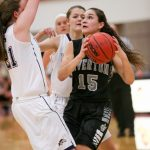 Riverton High School Girls Varsity Basketball beat Pleasant Grove High School 38-33