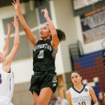 Riverton High School Girls Varsity Basketball beat Lehi High School 71-35