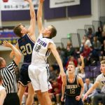 Riverton High School Boys Varsity Basketball falls to Herriman High School 24-35