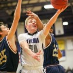 Riverton High School Boys Varsity Basketball falls to Lone Peak High School 62-72
