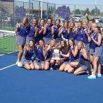 Riverton High School Girls Varsity Tennis finishes 1st place