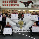 Edgewood High School Boys Varsity Wrestling finishes 1st place