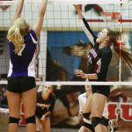 Edgewood High School Girls Varsity Volleyball falls to Bloomington High School South 3-0