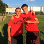 Tyler Lunn and Noah Brooks compete in Tennis Regionals Oct 4 at BNL