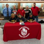 Connor Morton Signs Letter of Intent to Play Baseball at Franklin College