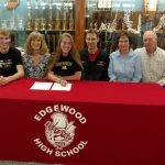 Kendall Souder signs scholarship to play VB at West Liberty University