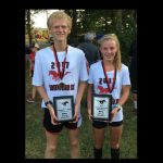Austin Haskett, Annalyssa Crain Mustang Cross Country Invite Record Setting Meet Champions