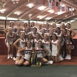 Girls Varsity Sideline Cheer finishes 1st place at UCA Camp