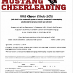 EHS CHEER CLINIC