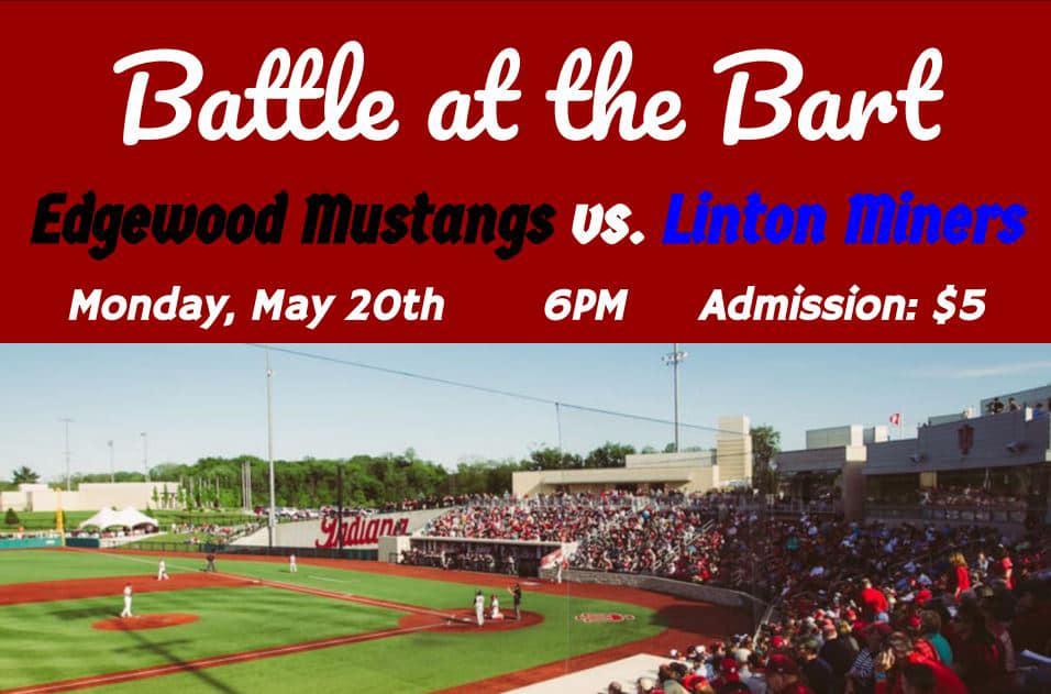 Edgewood vs Linton at Indiana University Monday, May 20 6:00 pm