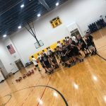 Future Mustang Basketball Players attending Camp