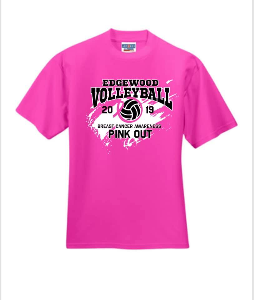 EHS Volleyball Pink Out October 3rd to Benefit IU Health Olcott Center of Bloomington