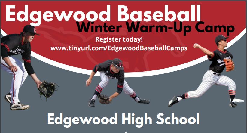 Edgewood Baseball Hosting Winter Warm Up Camp