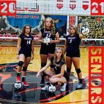 Volleyball Senior Night Wednesday, August 26 at 6:00 pm