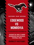 Mustang Football Home Opener Tonight vs Monrovia at 7:00 pm