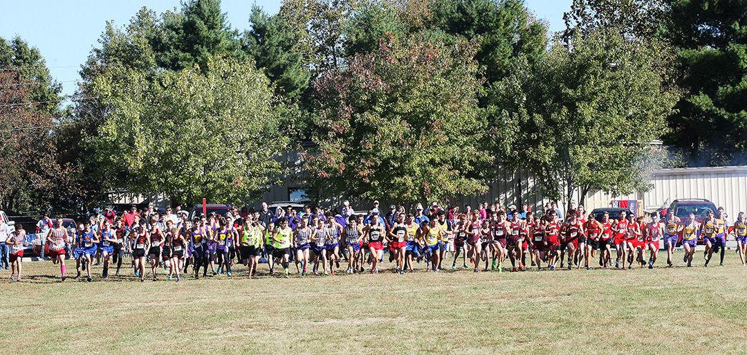Edgewood Cross Country Runners advance to Semi-State at Brown County on Saturday, October 24