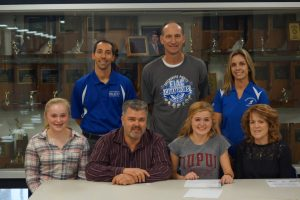 Shelby signs letter of intent