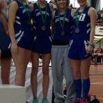 Greensburg High School Girls Varsity Track finishes 8th place