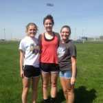 Greensburg High School Girls Varsity Track finishes 1st place