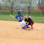 softball vs Madison