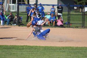 varsity softball vs Jennings County