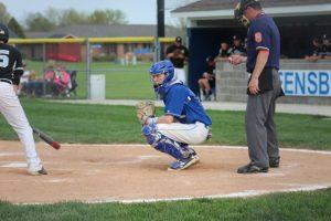 varsity baseball vs Hauser