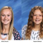 Alexis Proctor and Talynna Dinehart named Academic All State for Girls Soccer