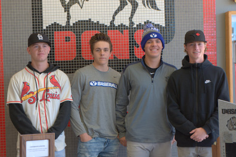 Baseball Players sign with BYU, CSI